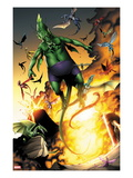Avengers vs. Pet Avengers 1: Fin Fang Foom Flying Art by Ig Guara