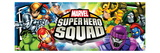 Marvel Super Hero Squad: Wolverine, Thor, Hulk, Iron Man, Loki, Dr. Doom, Sentinel, and Mystique Posters