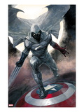 Moon Knight No.1 Cover: Moon Knight Posters by Alex Maleev