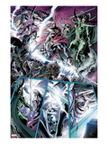 Avengers Prime No.3: Thor and Hela Fighting Prints by Alan Davis