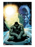 Incredible Hulks No.617: Hulk Sitting Art by Barry Kitson