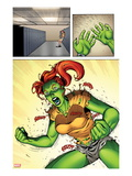 She-Hulks No.2: Lyra Screaming Prints by Ryan Stegman