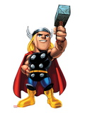 Marvel Super Hero Squad: Thor Posing Prints