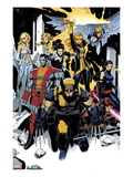 X-Men: Curse of The Mutants - Storm & Gambit No.1: Wolverine, Colossus, Magik, Psylocke, Northstar Posters by Chris Bachalo