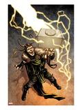 Loki No.1 Cover: Loki Standing Prints by Sebastian Fiumara