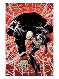 Spider-Island: The Amazing Spider-Girl No.2 Cover: Kingpin Crawling with Spider-Girl Prints by Patrick Zircher