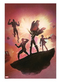 Uncanny X-Men Annual No.3 Cover: Hope Summers, Cyclops, Namor, and Dr. Nemesis Posters by Black Frog