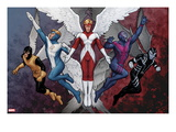 X-Men Evolutions 1: Archangel Prints by John Tyler Christopher