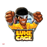 Marvel Super Hero Squad Badge: Luke Cage Posing Posters