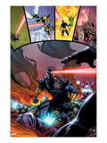 Origins of Marvel Comics: X-Men No.1: Cyclops Fighting Prints by Brian Ching
