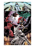 Annihilators 2: Silver Surfer, Gladiator, and Beta-Ray Bill Prints by Tan Eng Huat