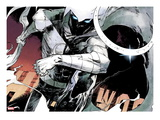 Moon Knight No.1: Moon Knight Running Art by Alex Maleev