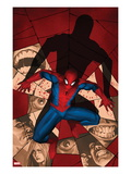 Fear Itself: Spider-Man No.1 Cover: Spider-Man Crouching Art by Marko Djurdjevic