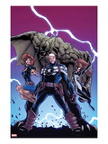 Onslaught Unleashed 3 Cover: Steve Rogers, Nomad and Spider-Girl Prints by Humberto Ramos