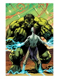 Incredible Hulks 615: Hulk Standing Print by Barry Kitson