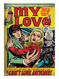 Marvel Comics Retro: My Love No.19 Cover: Fighting Poster