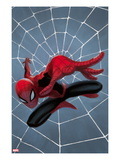 Spider-Man: Season One No.1 Cover: Spider-Man Jumping Posters by Julian Totino Tedesco