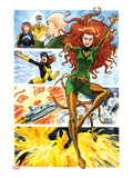 Origins of Marvel Comics: X-Men No.1: Phoenix Flying Art by Jill Thompson