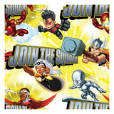 Marvel Super Hero Squad: Join the Squad! Silver Surfer, Storm, Falcon, Thor, and Wonder Man Art