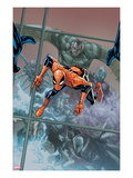 The Amazing Spider-Man 676 Cover: Spider-Man Jumping Posters by Humberto Ramos