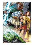 Incredible Hulks 621: Zeus and Hera Posters by Paul Pelletier