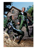 Avengers: The Childrens Crusade 2: Quicksilver and Speed Standing Prints by Jim Cheung