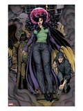 Ultimate X 4: Jean Grey Hovering, Surrounded by Smoke Posters by Arthur Adams