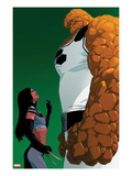 X-23 No.14 Cover: X-23 and Thing Standing Prints by Kalman Andrasofszky
