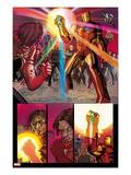 Avengers No.12: Iron Man with the Infinity Gauntlet Posters by John Romita Jr.
