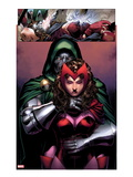 Avengers: The Childrens Crusade 2: Dr. Doom and Scarlet Witch Standing Prints by Jim Cheung