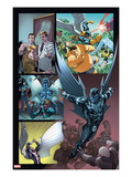 Origins of Marvel Comics: X-Men 1: Archangel Flying Affiches par Tom Raney