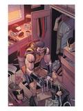 Daken: Dark Wolverine No.23 Cover: Wolverine Print by Giuseppe Camuncoli
