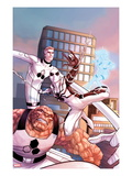 The Amazing Spider-Man No.660 Cover: Spider-Man, Thing, Mr. Fantastic, and Invisible Woman Posters by Stefano Caselli