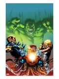 Incredible Hulks: Enigma Force 2 Cover: Hulk Screaming Prints by Carlo Pagulayan