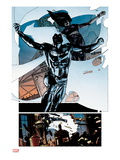 Moon Knight 8 - Jumping Prints by Alex Maleev