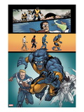 Origins of Marvel Comics: X-Men 1: Beast Running Posters by Salva Espin