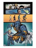 Origins of Marvel Comics: X-Men No.1: Beast Running Posters by Salva Espin
