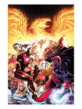 Avengers vs X-Men No.2: Iron Man, Magneto, Thor, and Hope Summers Art by Jim Cheung