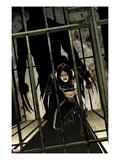 Daken: Dark Wolverine No.9 Cover: X-23 Crouching Prints by Giuseppe Camuncoli