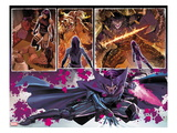 Uncanny X-Force 8: Panels with Psylocke and Telekinetic Katana Prints by Billy Tan