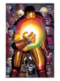 Avengers No.12: Iron Man with the Infinity Gauntlet Affischer av John Romita Jr.