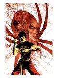 Spider-Island: Deadly Hands of Kung Fu No.1 Cover: Shang-Chi Posing Konst av Sebastian Fiumara