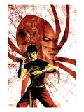 Spider-Island: Deadly Hands of Kung Fu No.1 Cover: Shang-Chi Posing Art by Sebastian Fiumara