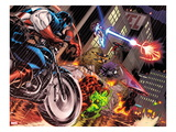 Avengers: X-Sanction No.1 Cover: Captain America, Red Hulk, Spider-Man, Iron Man and Others Prints by Ed McGuiness