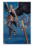 Ultimate New Ultimates No.5: Valkyrie in the Rain with a Sword Prints by Frank Cho