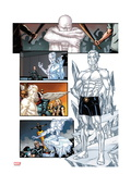 Origins of Marvel Comics: X-Men 1: Iceman Standing Print by Pablo Raimondi