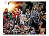 The Thanos Imperative: Devestation 1: Gladiator, Ronan The Accuser, Warlock and Others Poster by Miguel Angel Sepulveda
