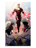 Avengers: The Childrens Crusade 4: Iron Lad Print by Jim Cheung