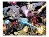 Annihilators 2: Silver Surfer, Ronan the Accuser, Beta-Ray Bill, Gladiator, Quasar Prints by Tan Eng Huat