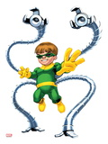 Marvel Super Hero Squad: Doctor Octopus Posing Print